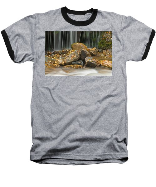 River Rocks Baseball T-Shirt