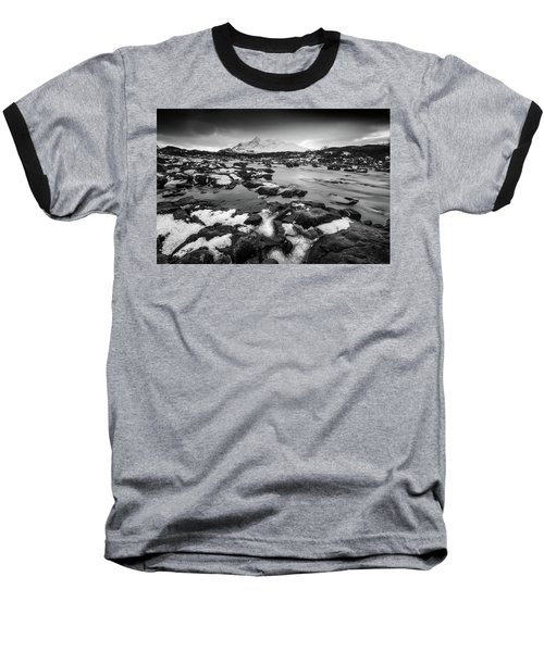 River Sligachan And Black Cuillin, Isle Of Skye Baseball T-Shirt
