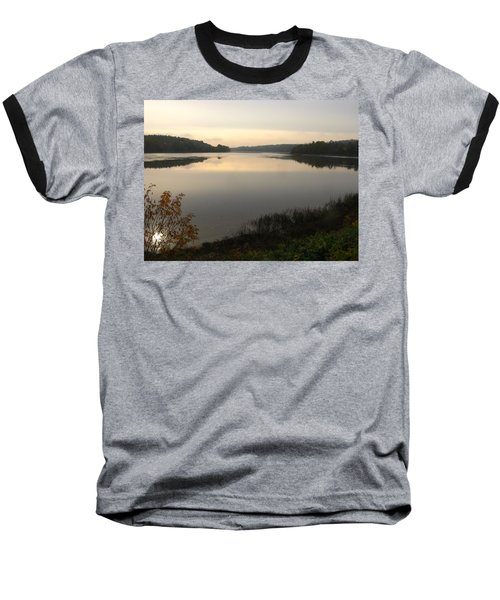 River Solitude Baseball T-Shirt