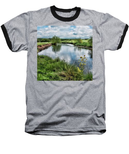 River Tame, Rspb Middleton, North Baseball T-Shirt