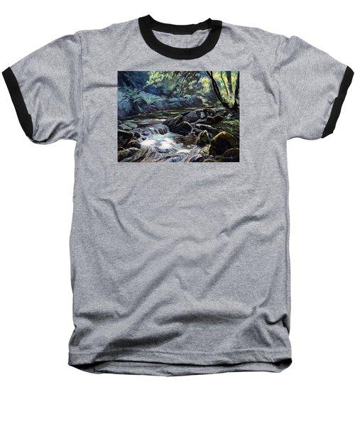 River Taw Sticklepath Baseball T-Shirt