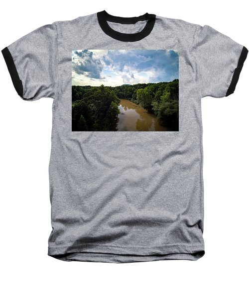 River View From Above Baseball T-Shirt