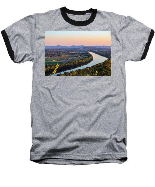 Connecticut River View  Baseball T-Shirt