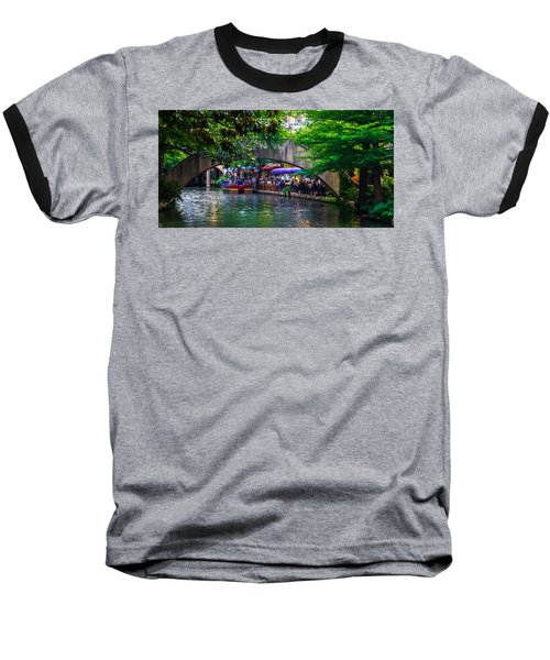River Walk Dining Baseball T-Shirt