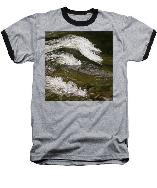River Waves Baseball T-Shirt