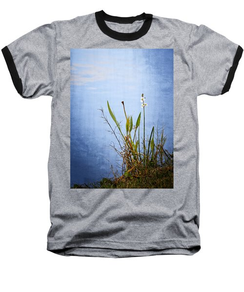 Riverbank Beauty Baseball T-Shirt by Carolyn Marshall