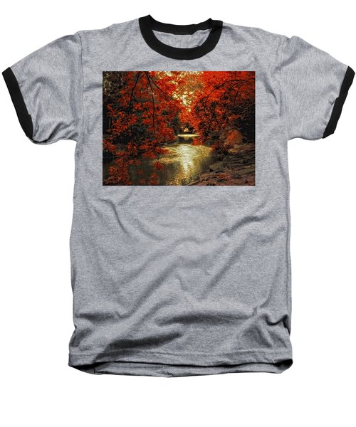 Riverbank Red Baseball T-Shirt