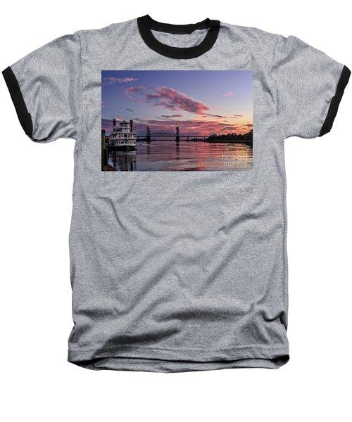 Cape Fear Riverboat Baseball T-Shirt