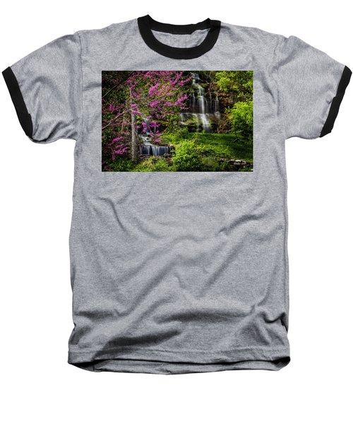 Rivercut Waterfall Baseball T-Shirt