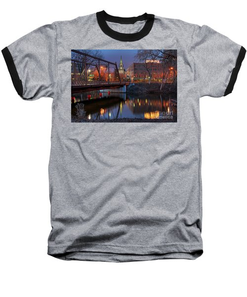Riverplace Minneapolis Little Europe Baseball T-Shirt