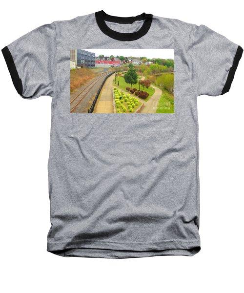 Rivers Edge Living   Baseball T-Shirt by Christina Verdgeline