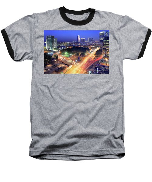 Baseball T-Shirt featuring the photograph Rivers Of Light by Bernardo Galmarini
