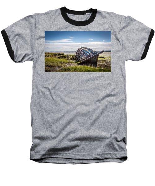Riverside Boat. Baseball T-Shirt