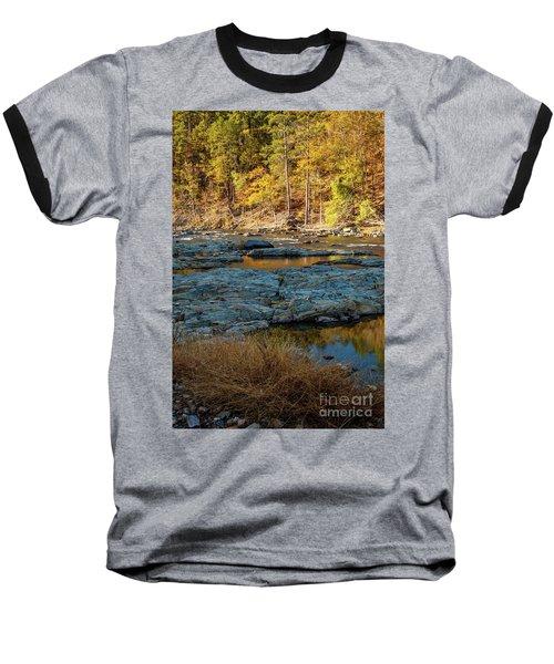 Baseball T-Shirt featuring the photograph Riverside by Iris Greenwell
