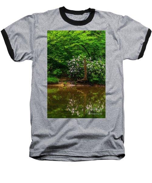 Riverside Rhododendron Baseball T-Shirt
