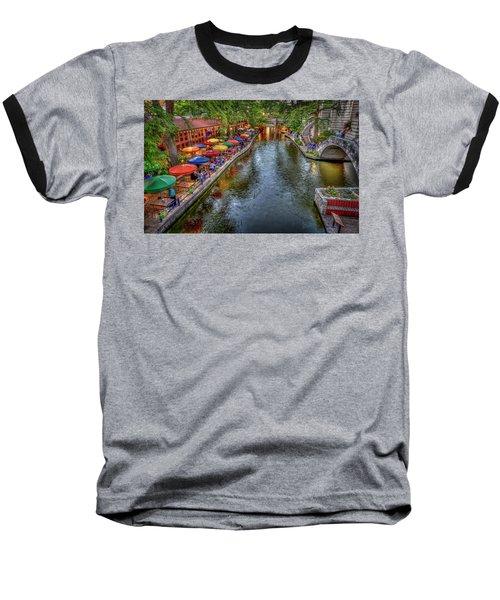 Riverwalk San Antonio Texas Baseball T-Shirt