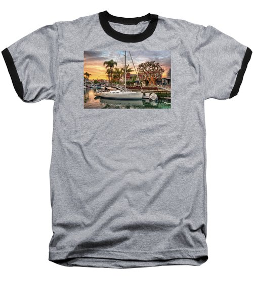 Rivo Alto Canal And Naples Canals Baseball T-Shirt