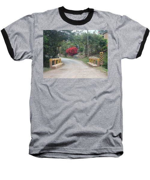 Road 1 Baseball T-Shirt