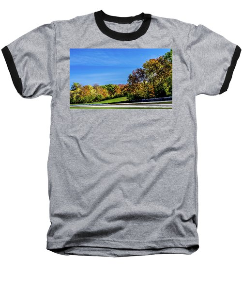 Road America In The Fall Baseball T-Shirt