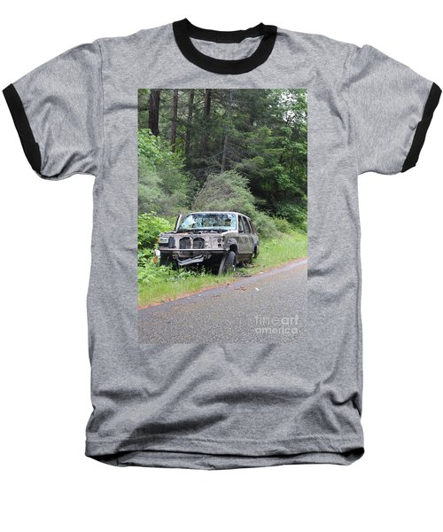 Baseball T-Shirt featuring the photograph Road Kill by Marie Neder