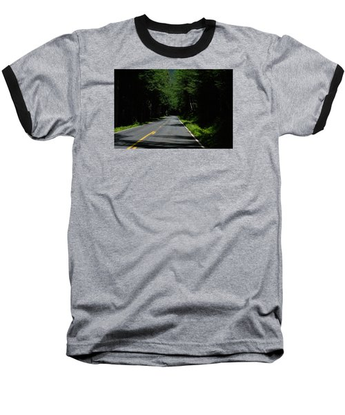 Road Leading To Where? Baseball T-Shirt
