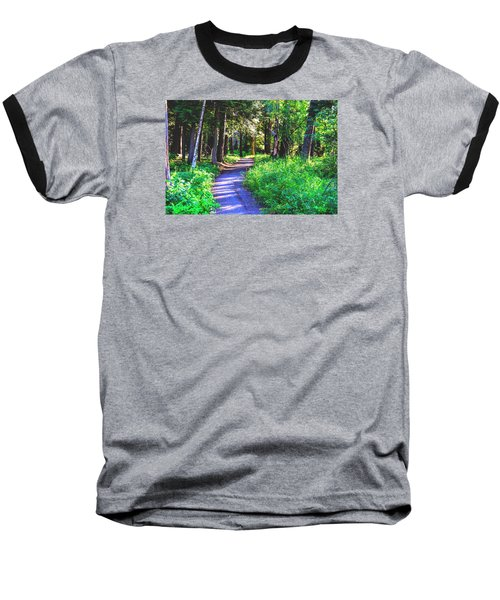 Road Less Traveled Baseball T-Shirt