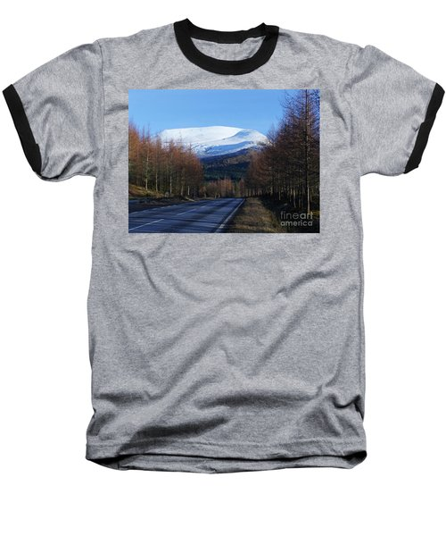 Road To Aonach Mor  Baseball T-Shirt