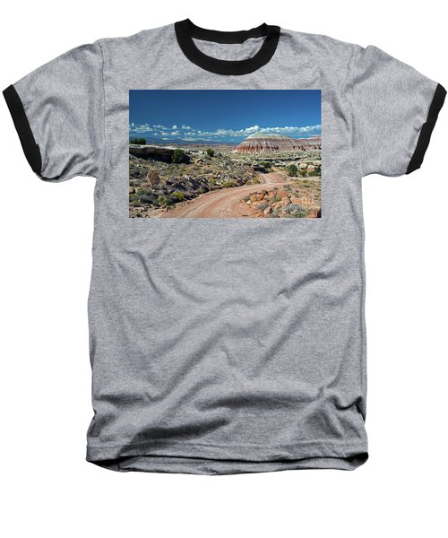 Road To Cathedral Valley Baseball T-Shirt