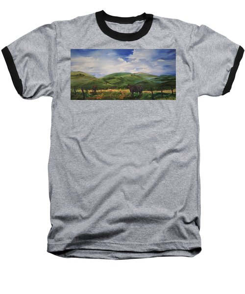 Road To Melrose, Montana         32 Baseball T-Shirt
