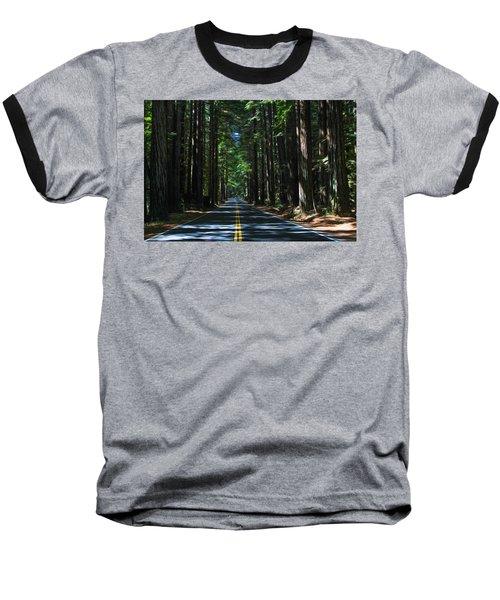 Road To Mendocino Baseball T-Shirt