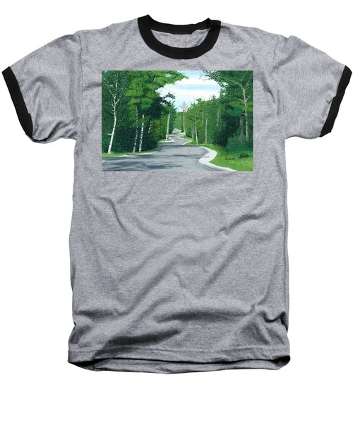 Road To Northport - Summer Baseball T-Shirt