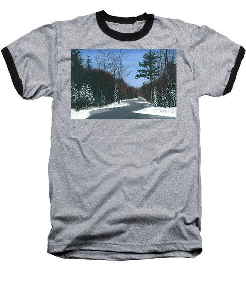 Road To Northport - Winter Baseball T-Shirt
