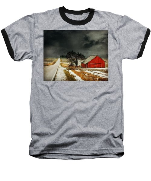 Road To Nowhere Baseball T-Shirt by Julie Hamilton