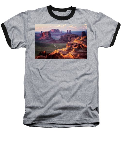 Road To Nowhere  Baseball T-Shirt by Nicki Frates