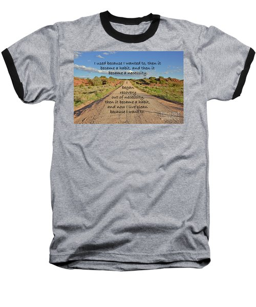 Road To Recovery Baseball T-Shirt