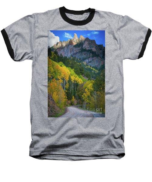 Road To Silver Mountain Baseball T-Shirt