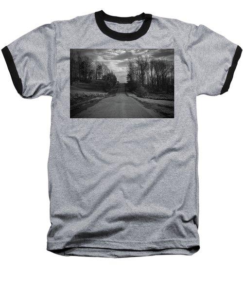 Road To Success Baseball T-Shirt by Stefanie Silva