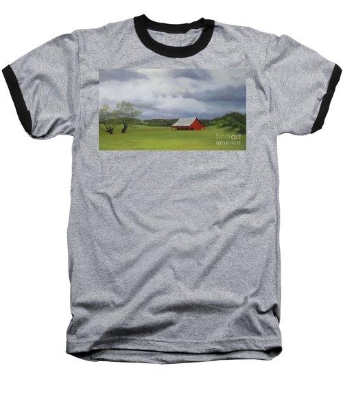 Road To Yosemite Baseball T-Shirt