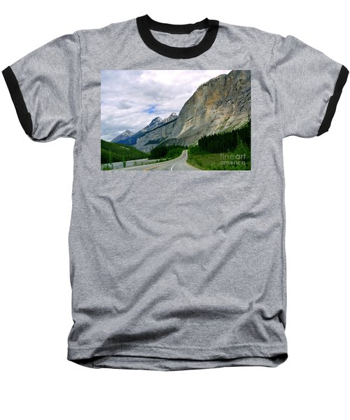 Road Trip  Baseball T-Shirt by Elfriede Fulda