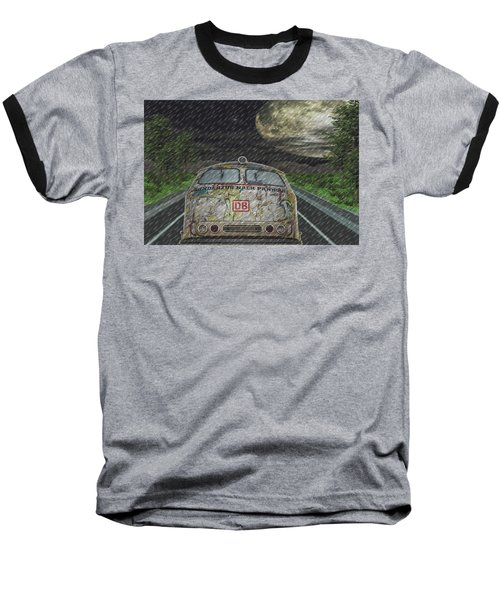 Road Trip In The Rain Baseball T-Shirt