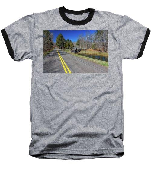 Road View Of Mabry Mill Baseball T-Shirt