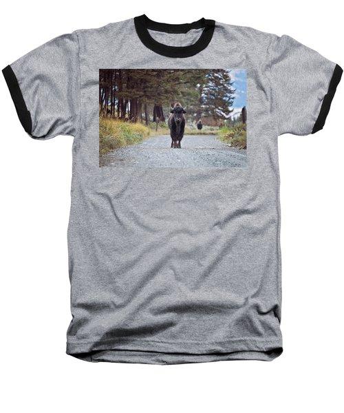 Roadblock Baseball T-Shirt