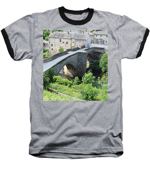 Roadbridge Over The River Tees Baseball T-Shirt