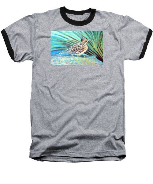 Roadrunner Fluffing Sold   Pastel Baseball T-Shirt