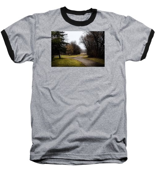 Roads To Nowhere Baseball T-Shirt by Celso Bressan