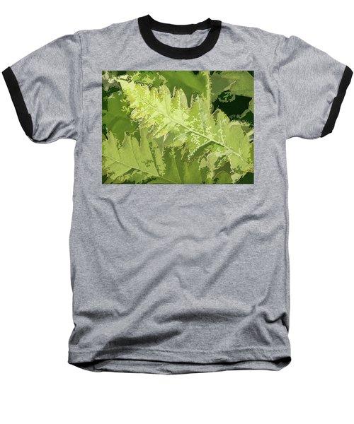 Roadside Fern 2 - Baseball T-Shirt