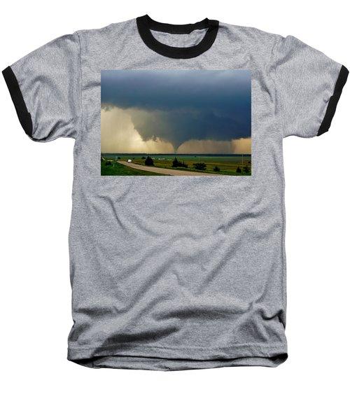 Roadside Twister Baseball T-Shirt