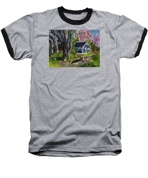 Roadside Vegetable Stand Off Season Baseball T-Shirt