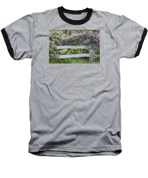 Roan Mountain Azaleas Baseball T-Shirt by Tyson and Kathy Smith