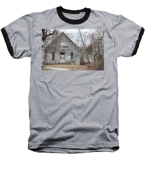 Roanoke Missouri Building Baseball T-Shirt